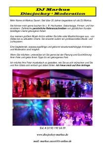 DJ Markus - Vorstellung Fitness NEU